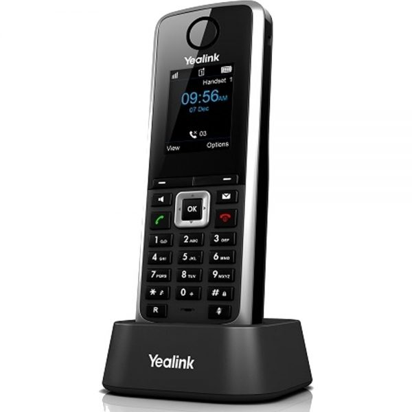 Cordless IP DECT Handset for W52P IP DECT Phone