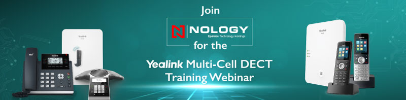 Join Nology for the Yealink Multi-Cell DECT Webinar